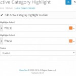 Hightlight Active Category