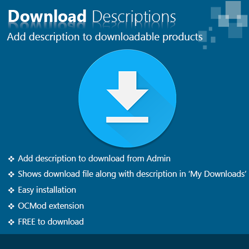 Download Descriptions