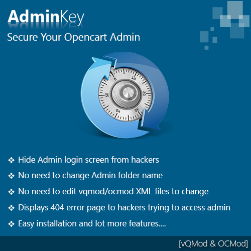 Admin Key - Secure your admin access