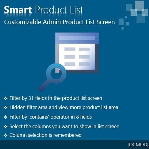Smart Product List