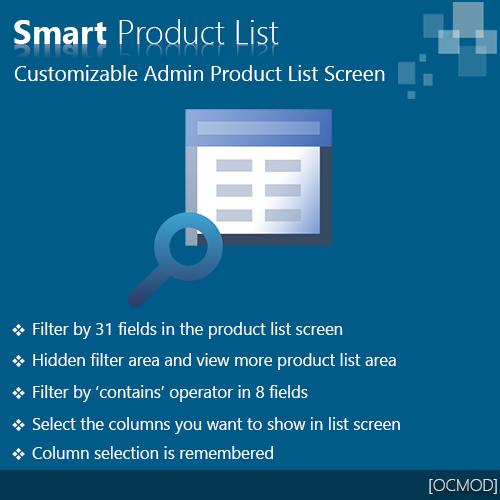 Smart Product List