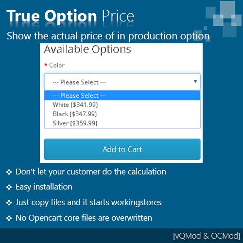 True option price